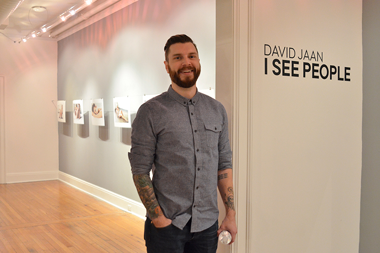 2016 Exhibition Award winner David Jaan  2nd floor Passageway Gallery