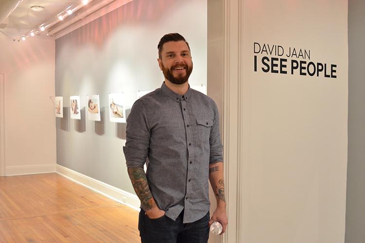 2016 Exhibition Award winner David Jaan  2nd floor Passageway Gallery