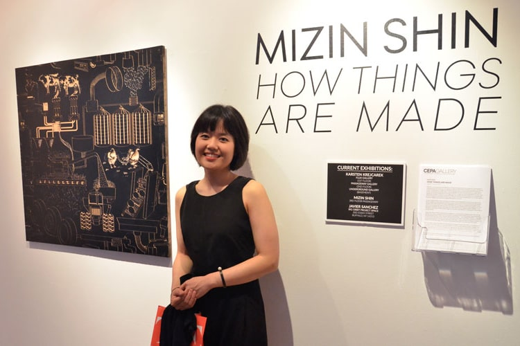 Exhibit by Mizin Shin