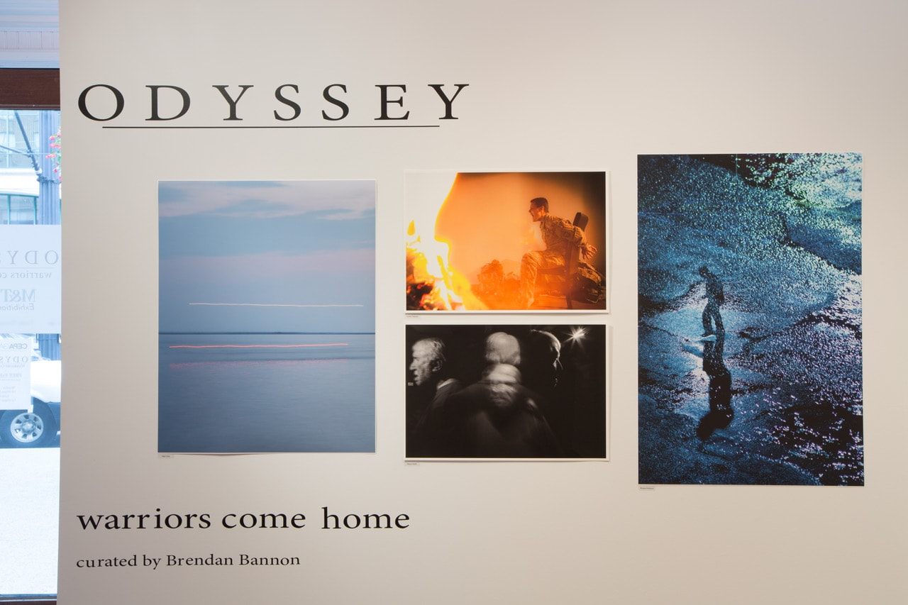 FLUX Gallery - Odyssey Warriors Come Home Exhibit - 2019 - CEPA Gallery - Buffalo NY © 2019 Rob McElroy