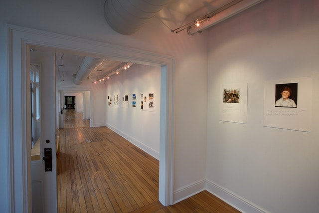 Passageway Gallery Third Floor - Odyssey Warriors Come Home Exhibit - 2019 - CEPA Gallery - Buffalo NY © 2019 Rob McElroy