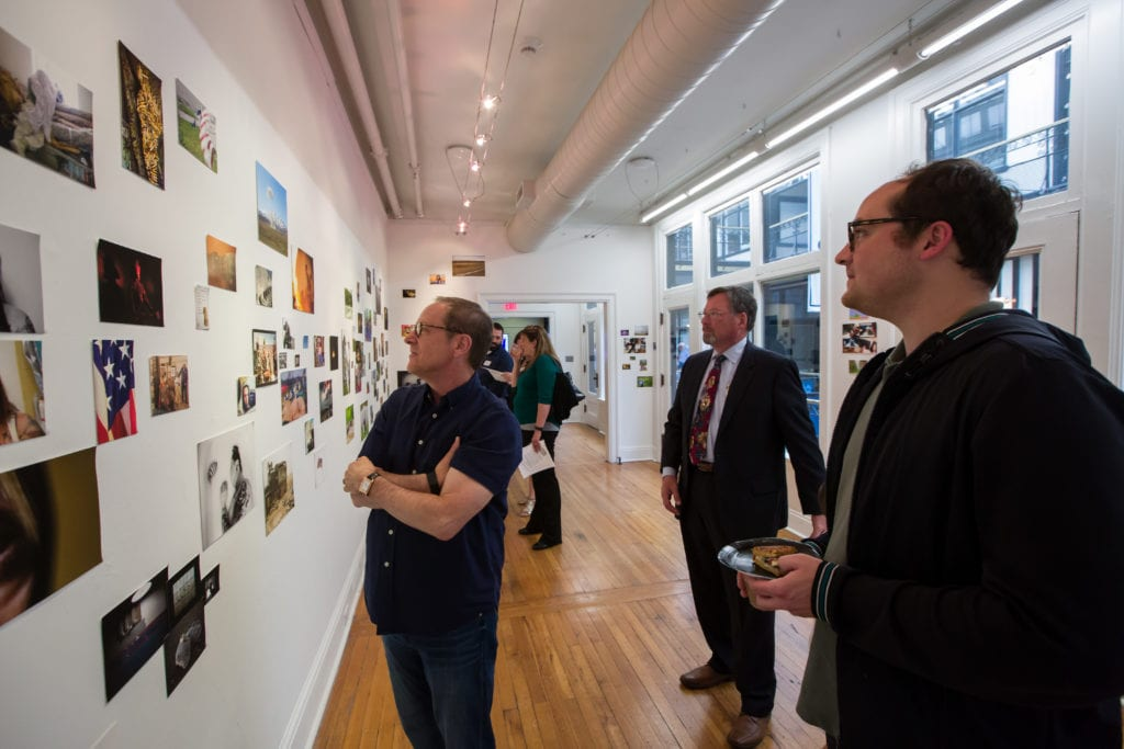 Opening Receptions - The Odyssey Project - CEPA Gallery - Buffalo NY © 2019 Rob McElroy
