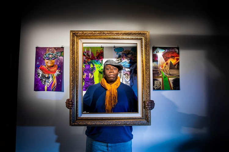 Portrait - #BlackMatters 2020 - Stacey Robinson - CEPA Gallery - Buffalo NY