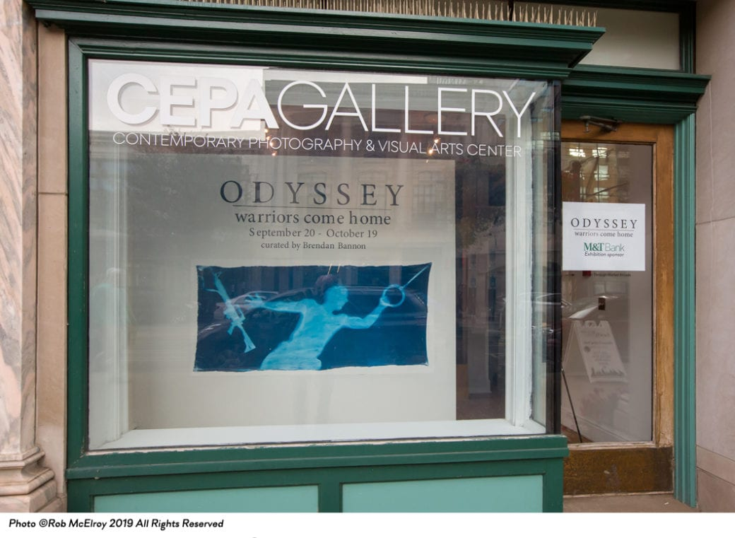 2019 September 29 - Blog - Odyssey Warriors Come Home Exhibit - 2019 - CEPA Gallery - Buffalo NY © 2019 Rob McElroy