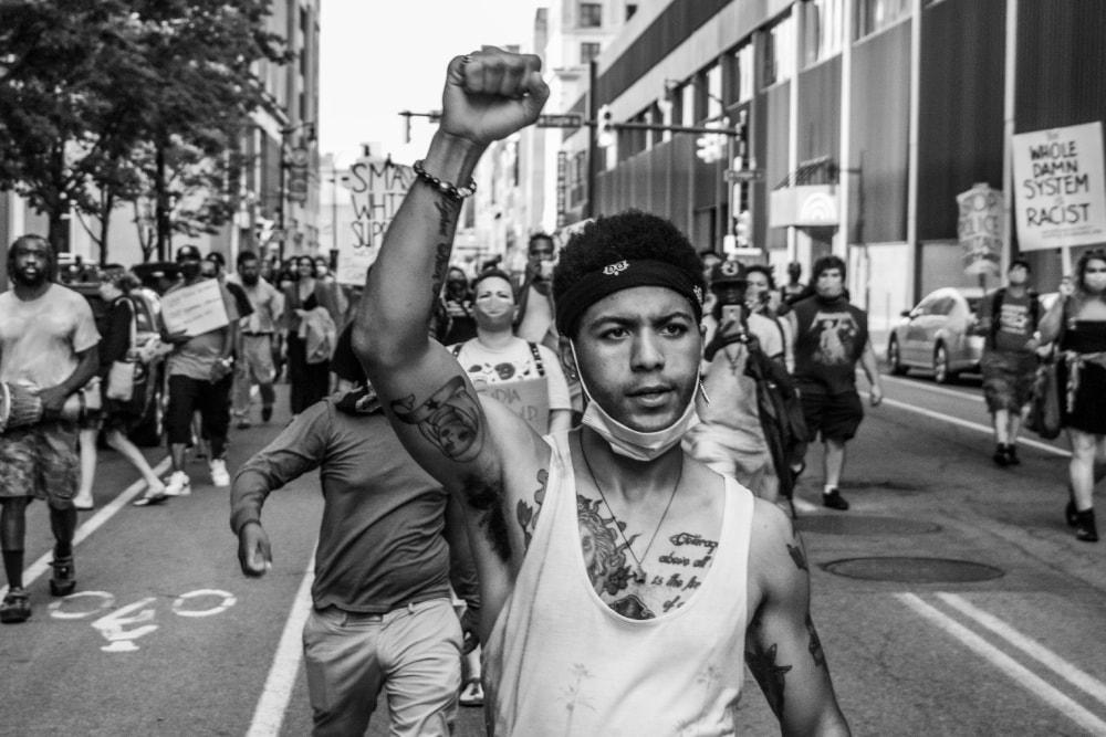 Darien Chandler Lead the People - Hope Rebellion and Justice - Tito Ruiz - Exhibit 2020 - CEPA Gallery - Buffalo NY © 2020 Tito Ruiz