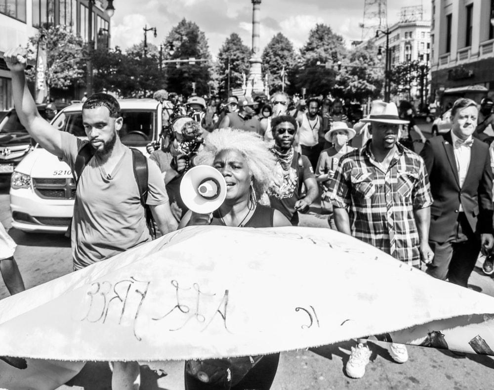 Justice For Cariol March - Hope Rebellion and Justice - Tito Ruiz - Exhibit 2020 - CEPA Gallery - Buffalo NY © 2020 Tito Ruiz