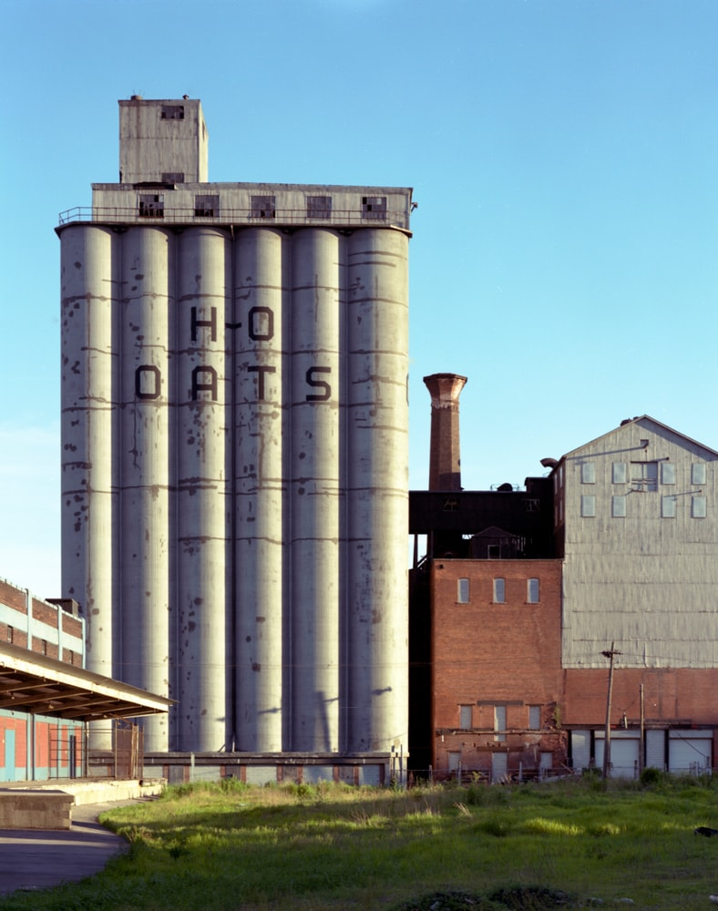 Patricia Layman Bazelon photos of Buffalo Grain Elevators