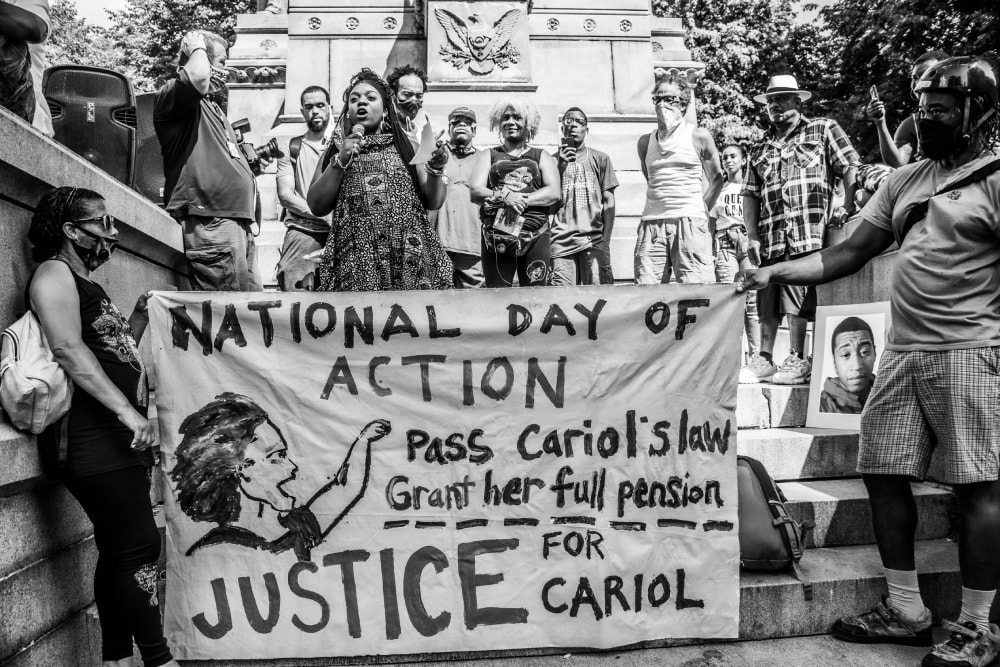 Cariol's Day - Hope Rebellion and Justice - Tito Ruiz - Exhibit 2020 - CEPA Gallery - Buffalo NY © 2020 Tito Ruiz