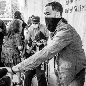 Deyana Davis Released From Custody - Hope Rebellion and Justice - Tito Ruiz - Exhibit 2020 - CEPA Gallery - Buffalo NY © 2020 Tito Ruiz