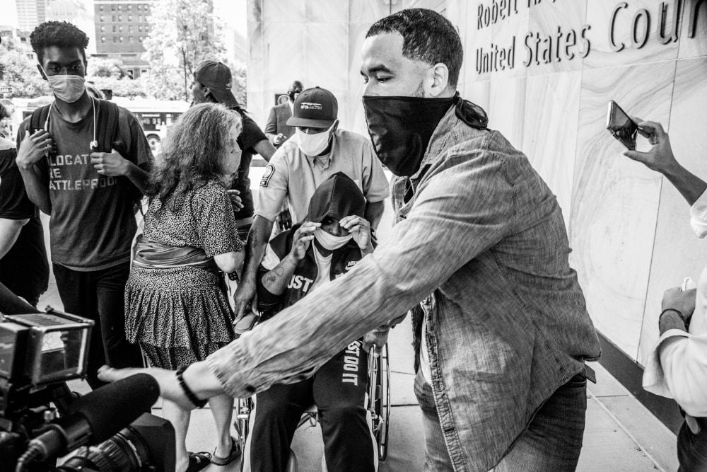 Deyanna Davis Released From Custody - Hope Rebellion and Justice - Tito Ruiz - Exhibit 2020 - CEPA Gallery - Buffalo NY © 2020 Tito Ruiz