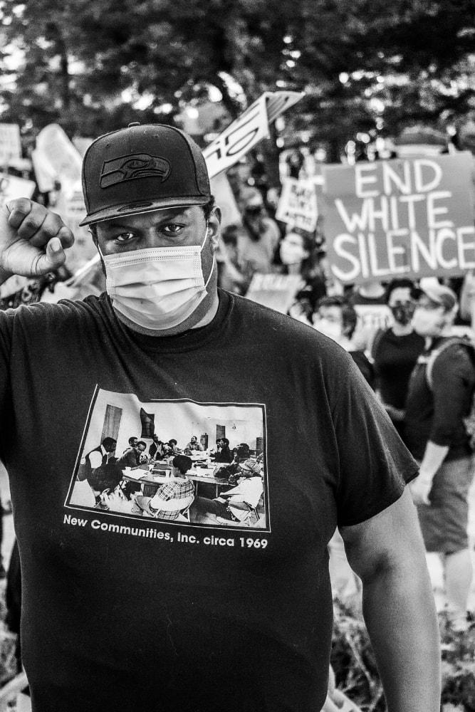 End White Silence - Hope Rebellion and Justice - Tito Ruiz - Exhibit 2020 - CEPA Gallery - Buffalo NY © 2020 Tito Ruiz