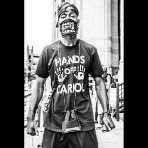 Hands Off Cariol - Hope Rebellion and Justice - Tito Ruiz - Exhibit 2020 - CEPA Gallery - Buffalo NY © 2020 Tito Ruiz