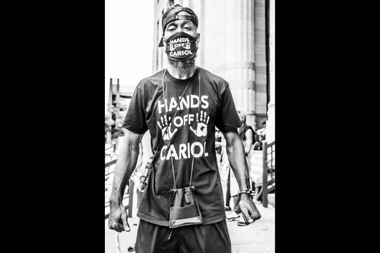 Hands Off Cariol - Hope Rebellion and Justice - Tito Ruiz - Exhibit 2020 - CEPA Gallery - Buffalo NY © 2020 Tito Ruiz
