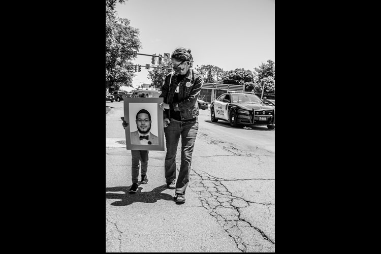 Justice For Jose Hernandez Rossy - Hope Rebellion and Justice - Tito Ruiz - Exhibit 2020 - CEPA Gallery - Buffalo NY © 2020 Tito Ruiz