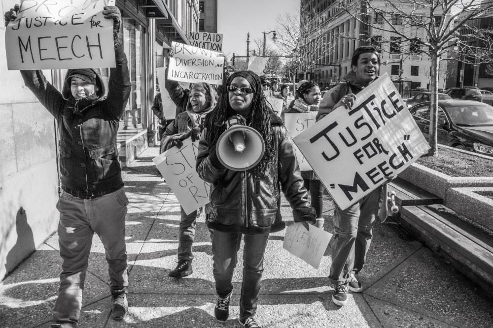 Justice For Wardel Meech Davis III No. 1 - Hope Rebellion and Justice - Tito Ruiz - Exhibit 2020 - CEPA Gallery - Buffalo NY © 2020 Tito Ruiz