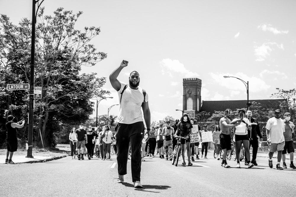 No Justice No Peace No. 1 - Hope Rebellion and Justice - Tito Ruiz - Exhibit 2020 - CEPA Gallery - Buffalo NY © 2020 Tito Ruiz