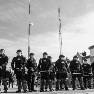 Police On Guard - Hope Rebellion and Justice - Tito Ruiz - Exhibit 2020 - CEPA Gallery - Buffalo NY © 2020 Tito Ruiz
