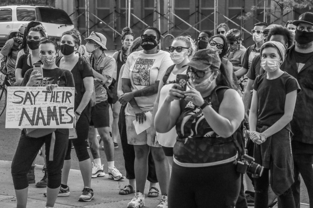Say Their Names I - Hope Rebellion and Justice - Tito Ruiz - Exhibit 2020 - CEPA Gallery - Buffalo NY © 2020 Tito Ruiz