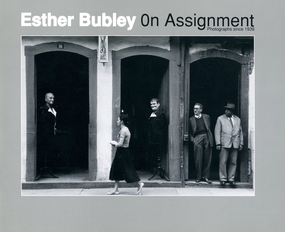 CEPA Gallery publication by Esther Bubley: On Assignment, 1989