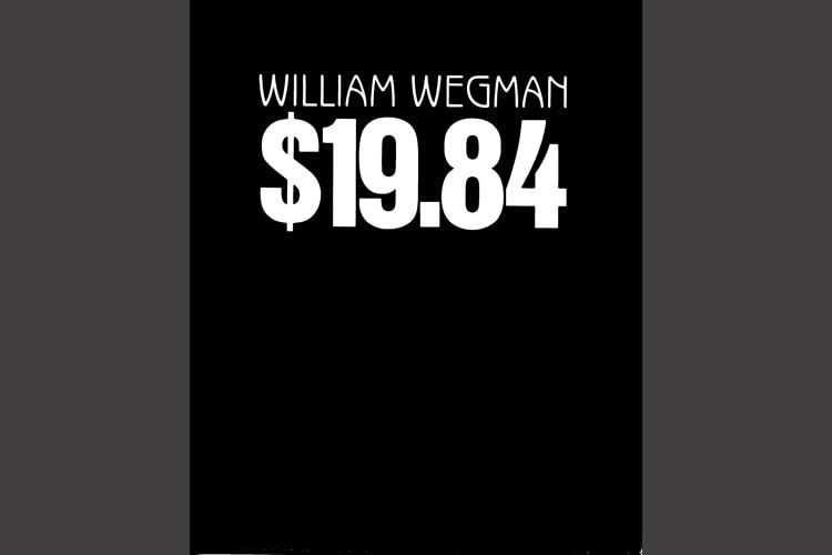 $19.84 by William Wegman, a CEPA Gallery publication