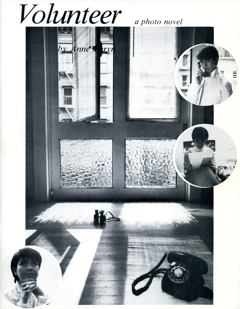 CEPA Gallery publication by Anne Turyn called Volunteer, 1982