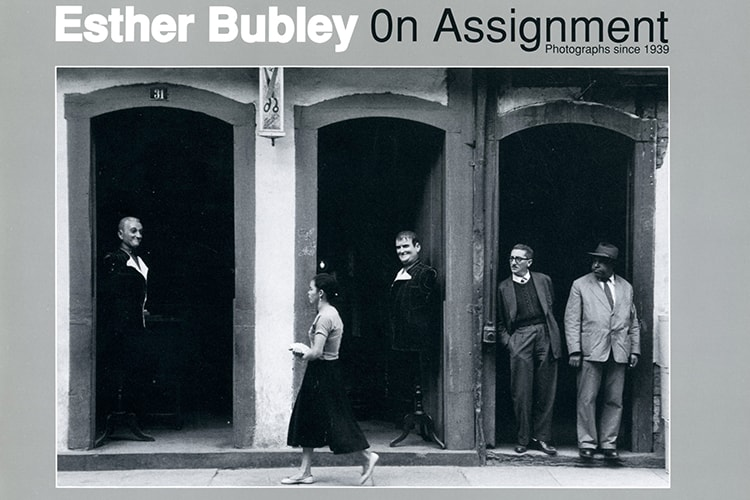 CEPA Gallery publication by Esther Bubley: On Assignment 1989