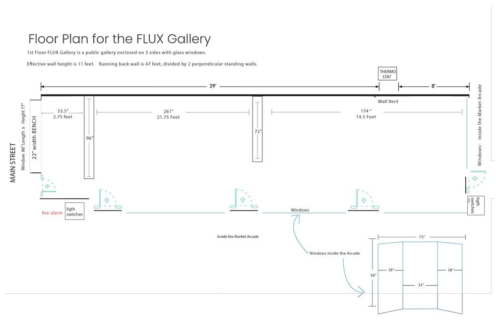 CEPA Gallery Flux Floor Plans