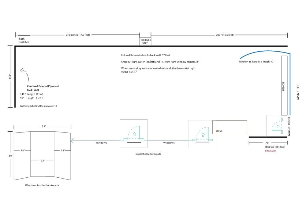 CEPA Focus Gallery Floor Plan