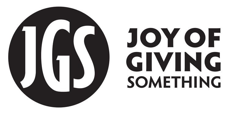 Joy of Giving Something Logo